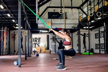 Power Resistance Bands Training