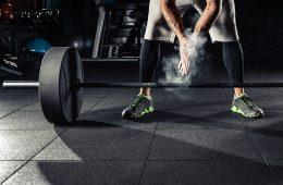 Weight-Lifting Sportboden
